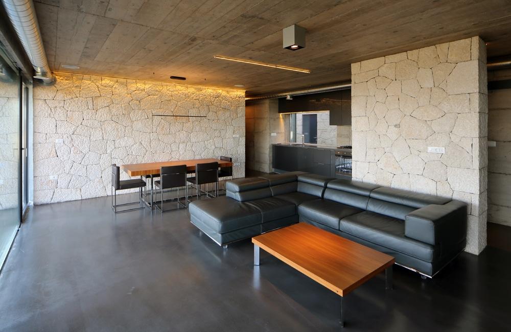 Woonkamer Betonvloer : betonvloeren woonkamer