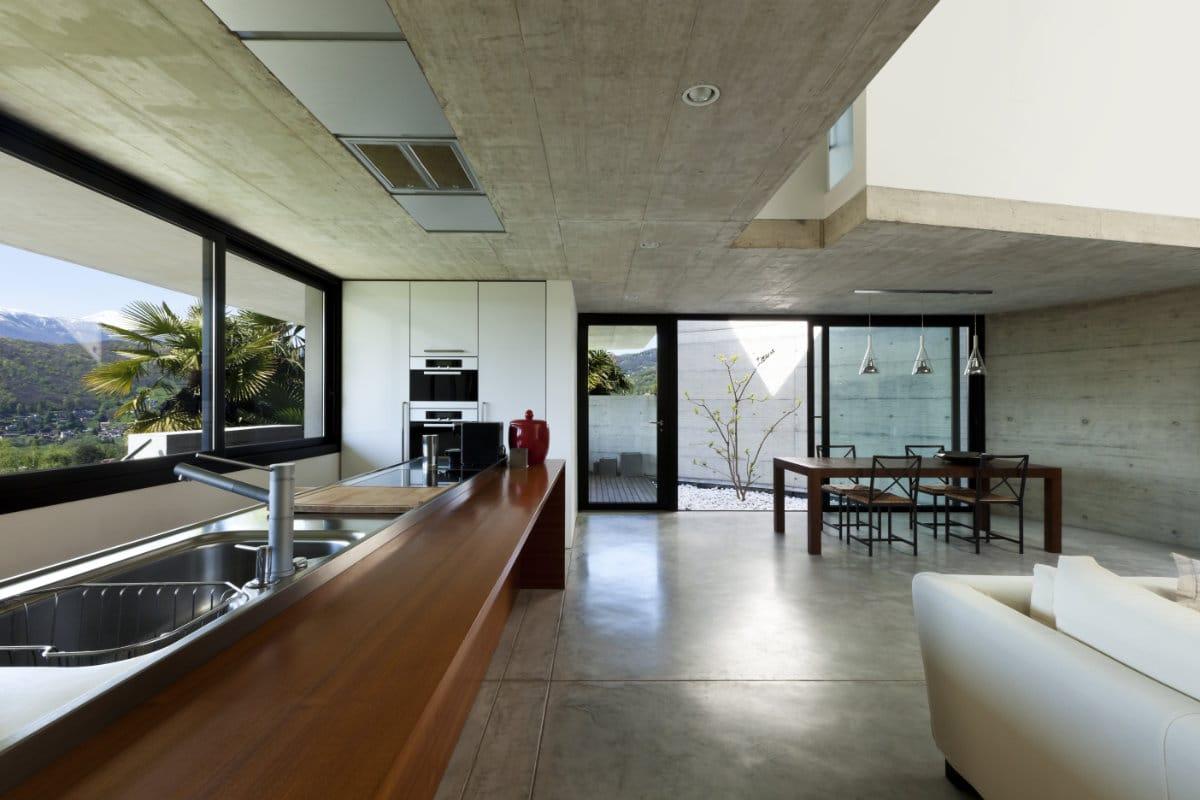 Betonvloer prijs advies info betonvloeren plaatsen for Goedkoop interieur
