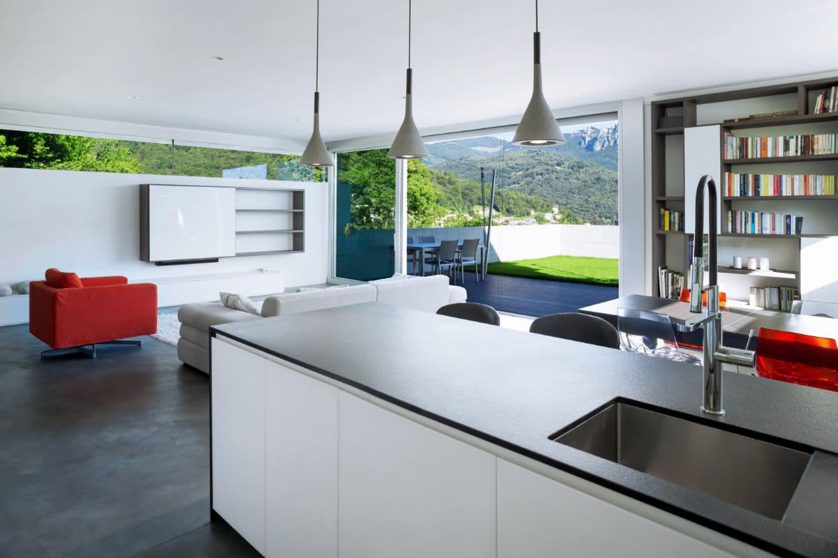 betonlook vloer keuken