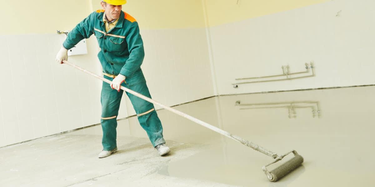betonvloer repareren