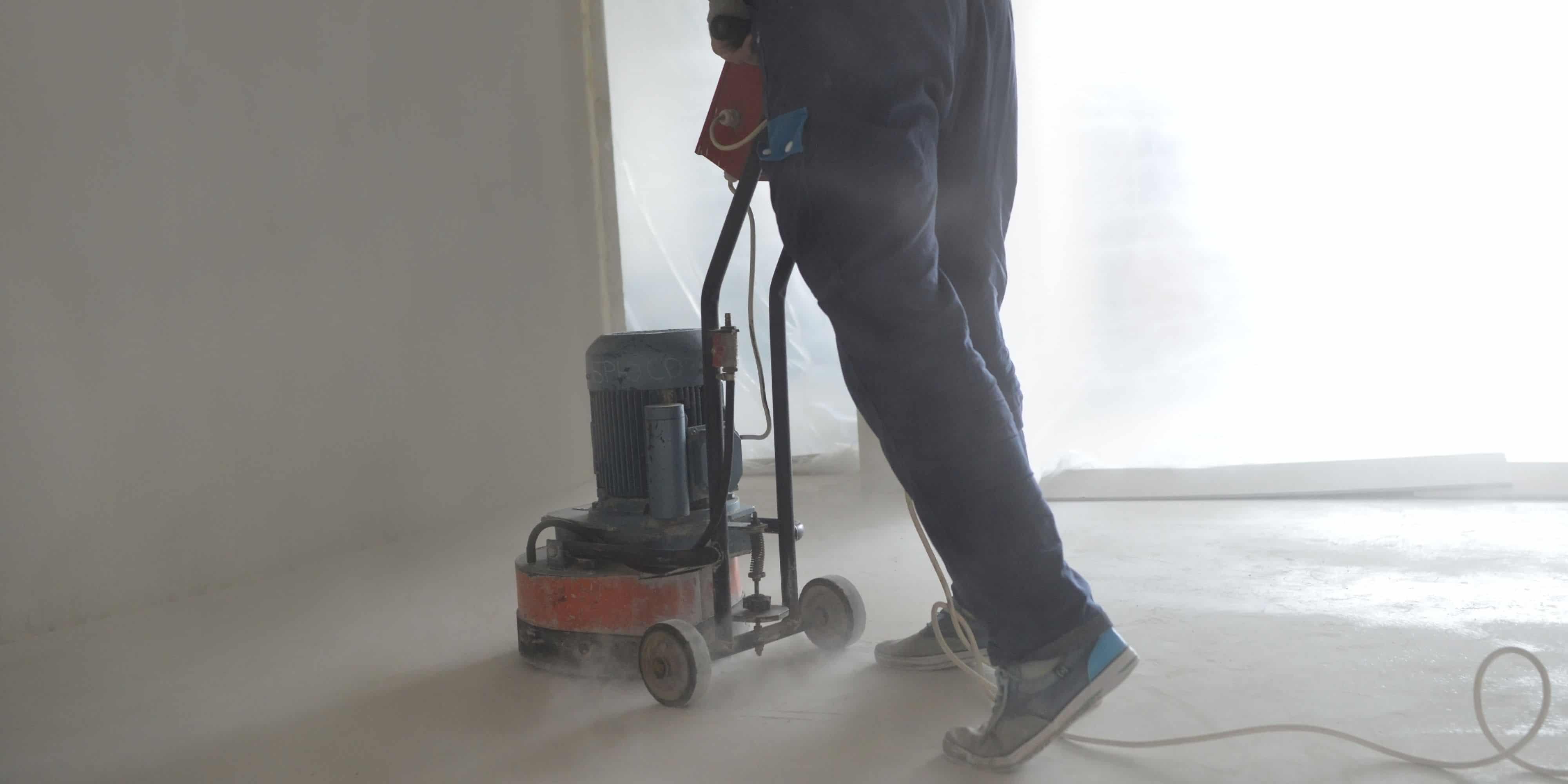 gepolierde beton onderhoud