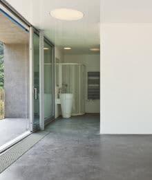 gepolierde betonvloer voorbeeld