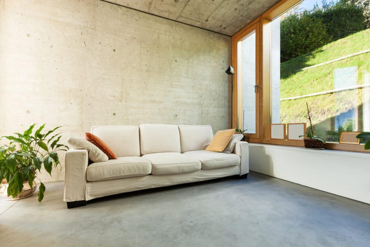 Gevlinderde betonvloer: toepassingen in huis, prijs & inspiratie