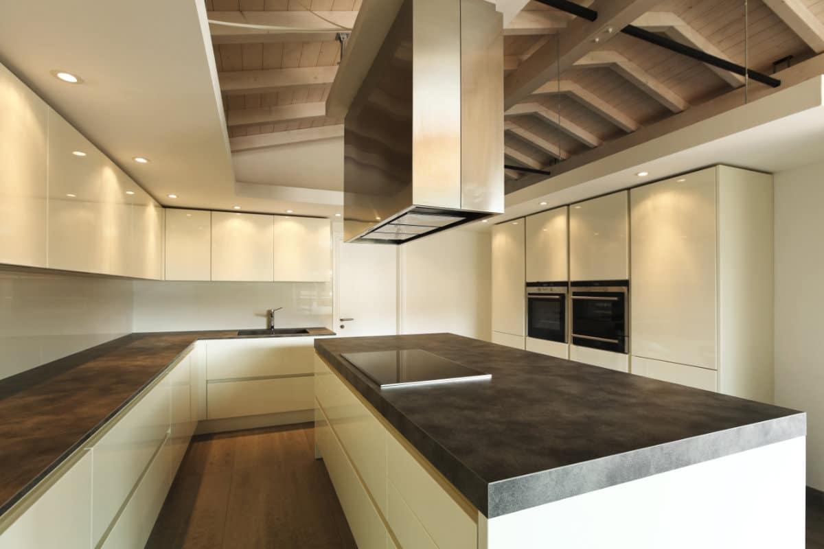 Keuken Met Beton : Betonvloer in de keuken mogelijkheden en hun prijzen per m