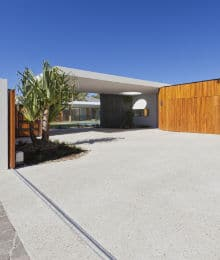 uitgewassen betonvloer voorbeeld